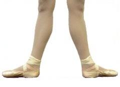 position 2 pieds danse classique